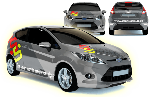 Vinyl graphics for your company vehicles